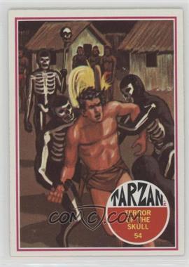 1966 Philadelphia Tarzan - [Base] #54 - Terror of the skull