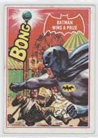 Batman Wins a Prize [Good to VG‑EX]