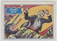 Batman's Coffin [NoneGoodtoVG‑EX]