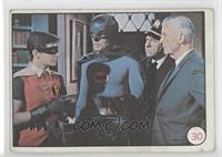 Batman, Robin, Chief Miles O'Brien, Commissioner James Gordon [Good to&nbs…