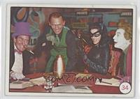 Penguin, Riddler, Catwoman, The Joker