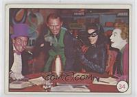 Penguin, Riddler, Catwoman, The Joker (No Movie Promo on Back) [Poor to&nb…