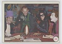 Penguin, Riddler, Catwoman, The Joker (No Movie Promo on Back) [Goodto&nb…