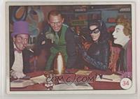 Penguin, Riddler, Catwoman, Joker (Movie Promo on Back) [PoortoFair]