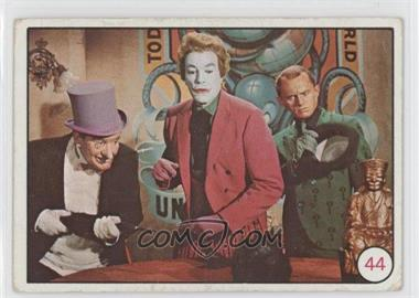 1966 Topps Batman Bat Laffs - [Base] #44 - Penguin, The Joker, Riddler [Good to VG‑EX]