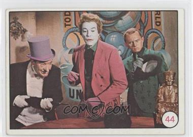 1966 Topps Batman Bat Laffs - [Base] #44.1 - Penguin, The Joker, Riddler (No Movie Promo on Back) [GoodtoVG‑EX]