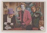 Penguin, The Joker, Riddler, Cesar Romero, Frank Gorshin (Movie Promo on Back) …
