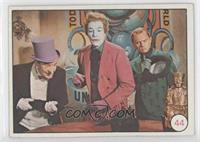 Penguin, The Joker, Riddler, Cesar Romero, Frank Gorshin (Movie Promo on Back)