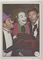 Penguin, The Joker, Bruce Wayne (Movie Promo on Back)