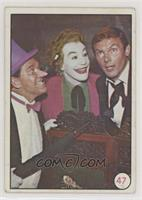 Penguin, The Joker, Bruce Wayne (Movie Promo on Back) [GoodtoVGR…