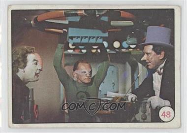 1966 Topps Batman Bat Laffs - [Base] #48 - The Joker, Riddler, Penguin [Good to VG‑EX]