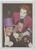 Penguin, Riddler, The Joker (Movie Promo on Back)