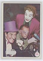 Penguin, Riddler, The Joker (Movie Promo on Back) [PoortoFair]