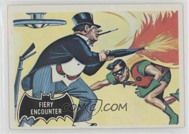 1966 Topps Batman Black Bat - [Base] #19 - Fiery Encounter
