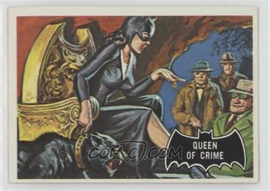 1966 Topps Batman Black Bat - [Base] #26 - Queen Of Crime