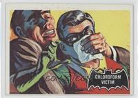 Chloroform Victim