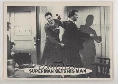 1966 Topps Superman - [Base] #51 - Superman Gets His Man