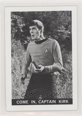 1967 Leaf Star Trek - [Base] #4 - Come In, Captain Kirk