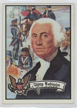 1972 Topps U.S. Presidents - [Base] #1 - George Washington