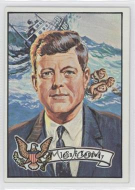1972 Topps U.S. Presidents - [Base] #34 - John F. Kennedy