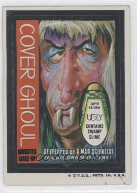 1973-74 Topps Wacky Packages Series 5 - [Base] #N/A - Cover Ghoul
