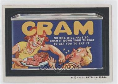 1973-74 Topps Wacky Packages Series 5 - [Base] #N/A - Cram