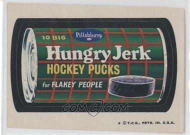 1973-74 Topps Wacky Packages Series 5 - [Base] #N/A - Hungry Jerk