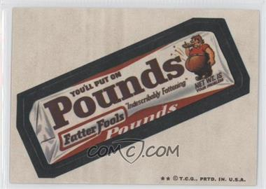 1973-74 Topps Wacky Packages Series 5 - [Base] #N/A - Pounds