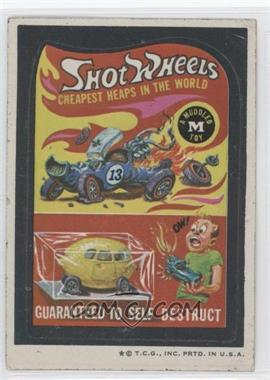 1973-74 Topps Wacky Packages Series 5 - [Base] #N/A - Shot Wheels