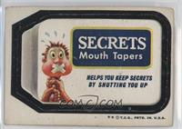 Secrets Mouth Tapers [Good to VG‑EX]