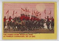 The Famed RCMP Musical Ride [Poor to Fair]