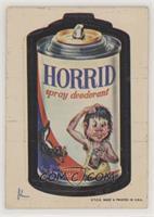 Horrid Spray Deodorant [NonePoortoFair]