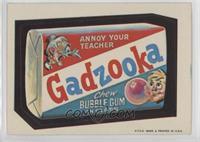 Gadzooka Bubble Gum