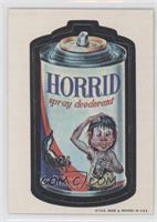 Horrid Spray Deoderant