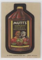 Mutt's Apple Juice [GoodtoVG‑EX]