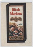 Ditch Masters [Poor to Fair]