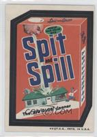 Spit and Spill (Spic & Span logos on box sides)