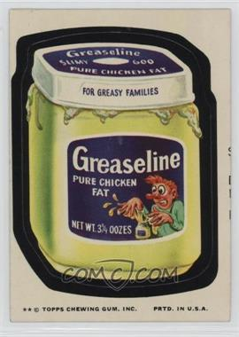 1974 Topps Wacky Packages Series 10 - [Base] #GREA - Greaseline