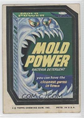 1974 Topps Wacky Packages Series 10 - [Base] #MOLD - Mold Power [GoodtoVG‑EX]