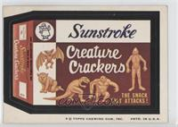 Sunstroke Creature Crackers [Poor to Fair]