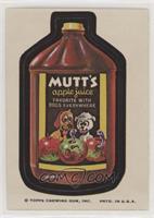 Mutt's Apple Juice