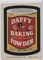 Daffy Baking Powder