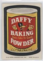 Daffy Baking Powder