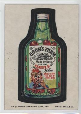 1974 Topps Wacky Packages Series 9 - [Base] #GOON - Goon's Farm