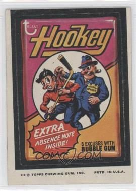 1974 Topps Wacky Packages Series 9 - [Base] #HOOK - Hookey [Good to VG‑EX]