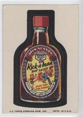 1974 Topps Wacky Packages Series 9 - [Base] #KIMA - Kick a Man