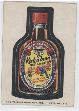 1974 Topps Wacky Packages Series 9 - [Base] #N/A - Kick a Man