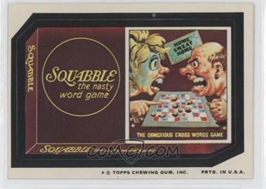 1974 Topps Wacky Packages Series 9 - [Base] #SQUA - Squabble