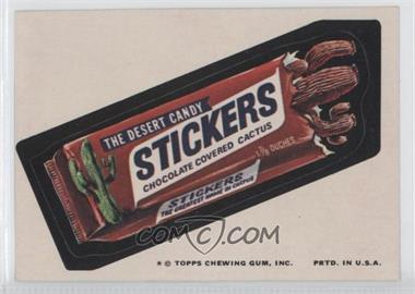 1974 Topps Wacky Packages Series 9 - [Base] #STIC - Stickers