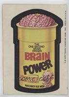 Brain Power [Good to VG‑EX]
